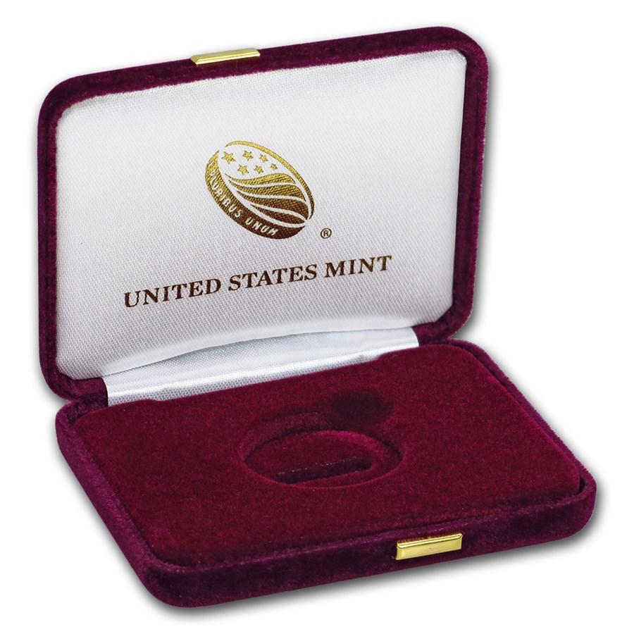 OGP Box & COA - U.S. Mint 2018 1/4 oz Gold Eagle Proof