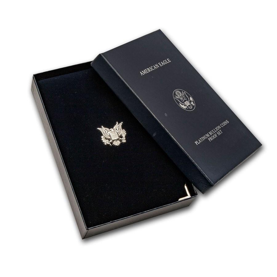 OGP Box - U.S. Mint 4-Coin PF Platinum Eagle Set (2003-2008)