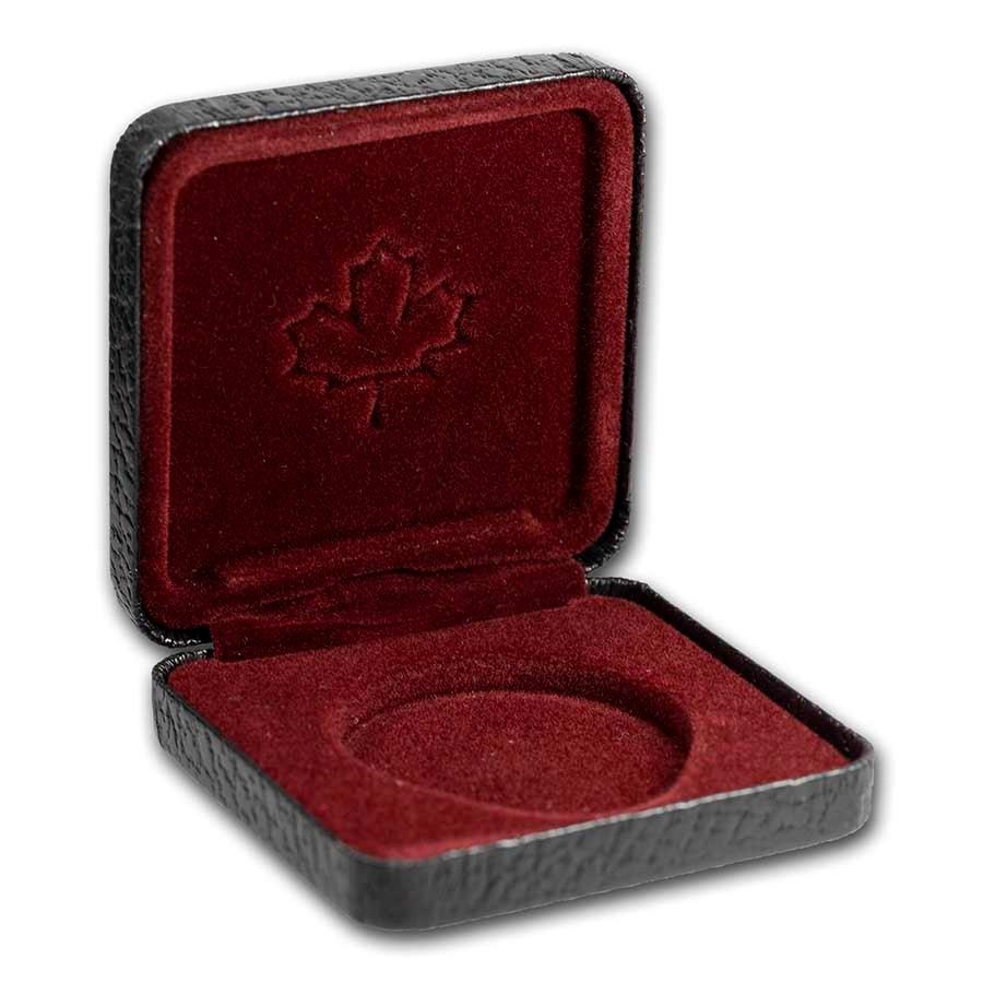OGP Box&COA-1996 Canada Silver Dollar PF (McIntosh Apple) (Empty)
