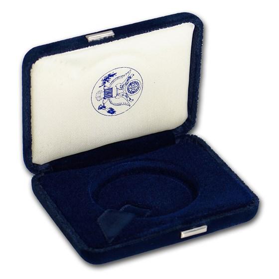 OGP - Silver American Eagle Proof (Empty Dark Blue Box 1994-2000)