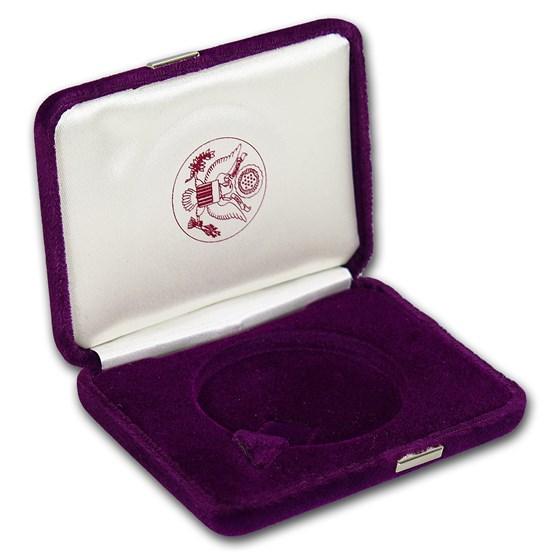 OGP - Silver American Eagle Proof Purple Box (1986-1993) (Empty)