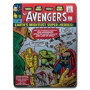 OGP Tin (Used) - The Avengers #1 Collectible Foil (Empty Tin)