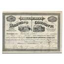Pabst Beer - Phillip Best Brewing Co. Stock Certificate (1870's)