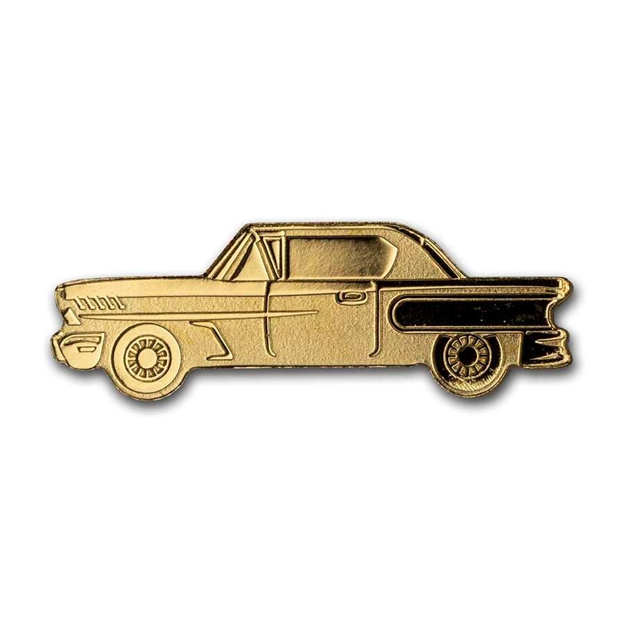 Palau 1/2 gram Gold $1 Golden Classic Car