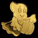 Palau 1/2 gram Gold $1 Golden Little Ghost