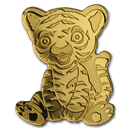Palau 1/2 gram Gold $1 Tiny Tiger