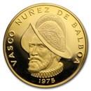 Panama Proof Gold 100 Balboas (1975-1977)