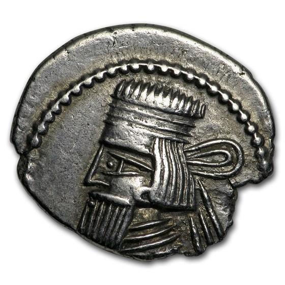 Parthian Empire Silver Drachm (1st-2nd centuries BC)