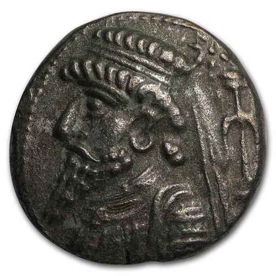 Parthian Empire Silver Tetradrachm (1st-2nd centuries BC) VF