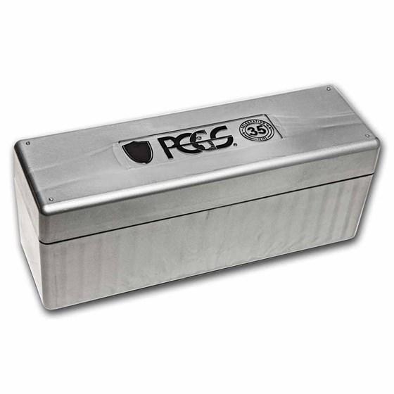 PCGS 20 Slab Storage Boxes- Gray 35th Anniversary Edition