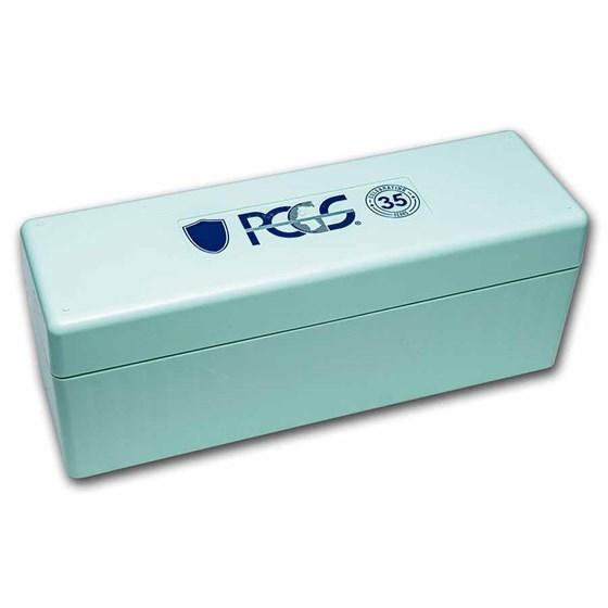 PCGS 20 Slab Storage Boxes- Mint Green 35th Anniversary Edition