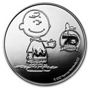Peanuts® 70th Anniversary with Charlie Brown 1 oz Proof Silver