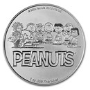 Peanuts® 70th Anniversary with Charlie Brown 1 oz Silver in TEP