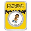 Peanuts® Franklin 1 oz Colorized Silver Round