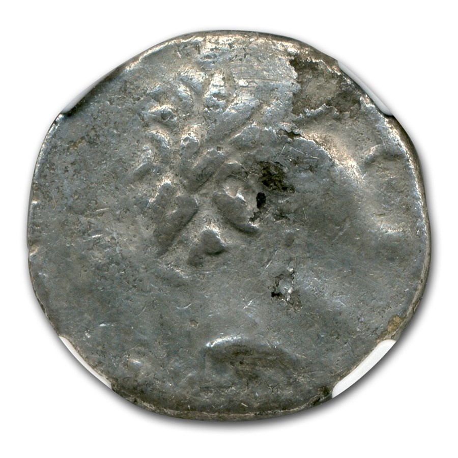 Phoenicia Tyre Silver Shekel (126-5 BC-67-8 AD) Fine NGC