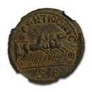 Pisidia Antiochia AE24 Quadriga race (251-253 AD) Ch XF NGC