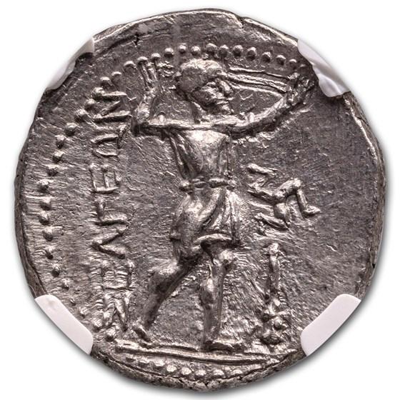 Pisidia Selge AR Stater Wrestlers (3rd Century BC) AU NGC