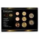 Portugal 1 Cent-2 Euro 8-Coin Euro Set BU
