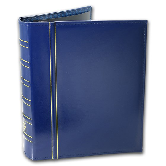 Premium Currency Album (Blue) - PMG/PCGS Graded Bank Notes
