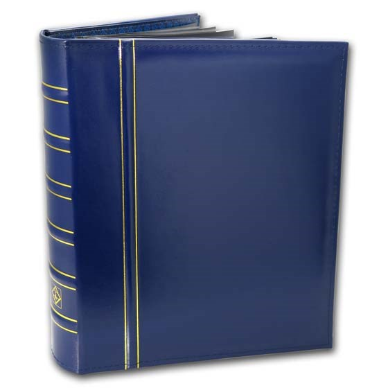 Premium Currency Album (Blue) - Various Bank Note Sizes