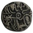 Rajput Afghani Silver Jital Shahi Dynasty (700-1000 AD) VF