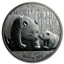 Random Year 1 oz Silver Chinese Panda (Abrasions)