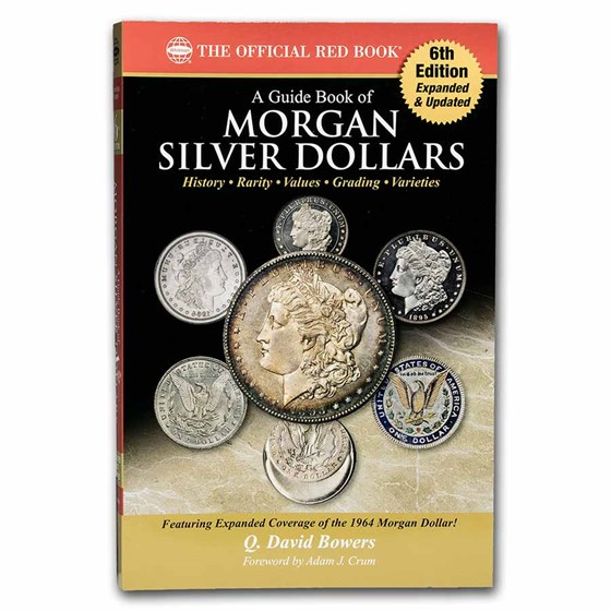 Red Book - A Guide Book of Morgan Silver Dollars 6th Edition