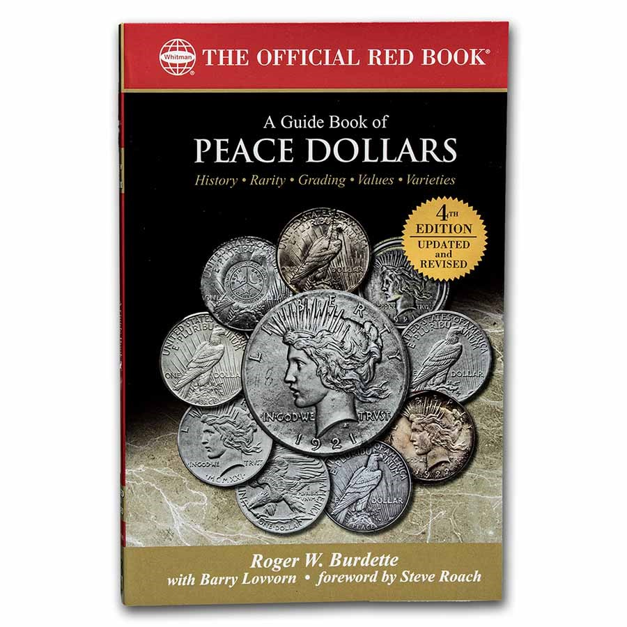 Red Book - A Guide Book of Peace Dollars 4th Edition
