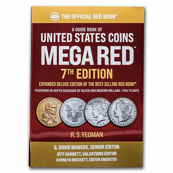 Red book: United States Coins MEGA RED 7th Edition