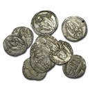 Republic of Ragusa Silver Grosso (1372-83 AD) Avg Circ