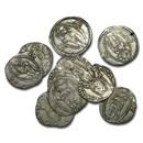 Republic of Ragusa Silver Grosso (1372-83 AD) Avg Circ