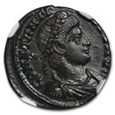 Roman AE Nummus Emperor Constantius II (337-361 AD) MS NGC
