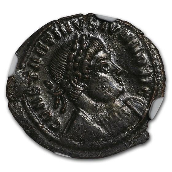 Roman AE3/4 Emperor Constantine II (337-340 AD) AU NGC