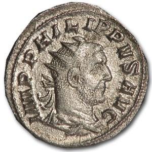 Roman AR Antoninianus Emperor Phillip I (244-249 AD)