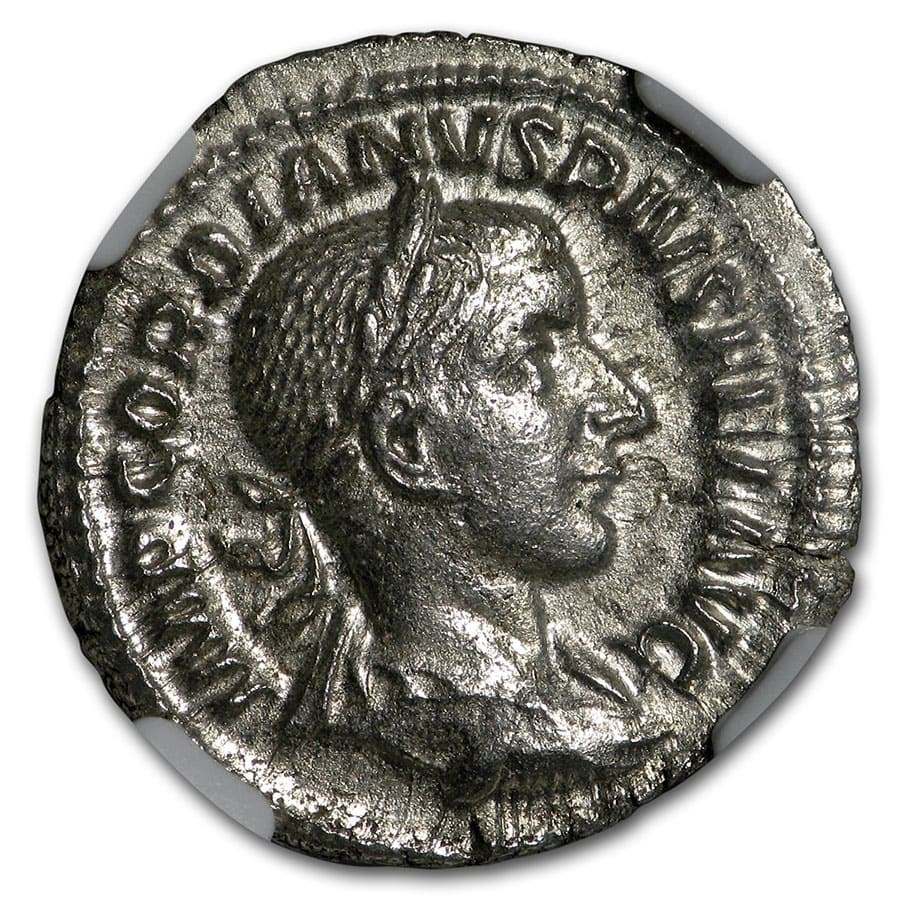 Roman AR Denarius Emp. Gordian III/Venus (238-244 AD) MS NGC