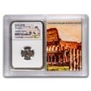 Roman AR Denarius Marcus Aurelius XF NGC (Colosseum Hoard Vault)