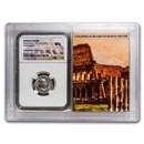Roman AR Denarius Maximinus I MS NGC (Colosseum Hoard Vault)