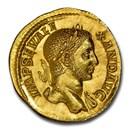 Roman AV Aureus Severus Alexander (222-235 AD) Ch MS NGC