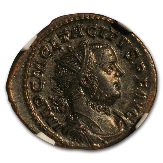 Roman Bi Aurelianianus Emperor Tacitus (275-276 AD) AU NGC