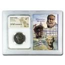 Roman BI Nummus Galerius (305-311 AD) XF NGC (Vault)