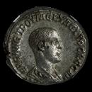 Roman BI Tetradrachm Herennius Etruscus (251 AD) Ch AU NGC