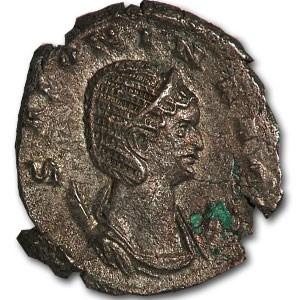 Roman Billon Antoninianus Salonina wife Gallienus