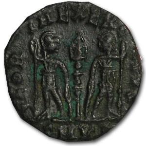 Roman Bronze AE 3 Emperor Honorius (393-423 AD)