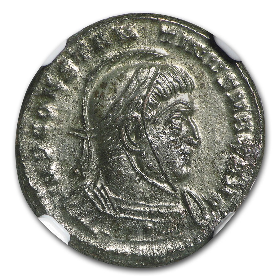 Roman Bronze AE3 Emperor Constantine I (307-337 AD) MS NGC