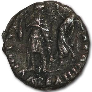 Roman Bronze AE4 Emperor Theodosius I (376-395 AD)