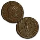 Roman Bronze Follis AE3 Emperor Constantine I (307-337 AD) VG-VF+