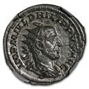 Roman Dbl. Denarius Phillip I (244-249 AD) NGC MS