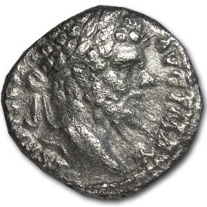 Roman Denarius Emperor Septimius Severus (193-211 AD)