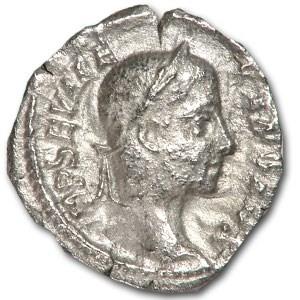 Roman Denarius Emperor Severus Alexander (222-235 AD)
