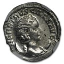 Roman Double Denarius Herennia Etruscilla (249-253 AD) MS NGC